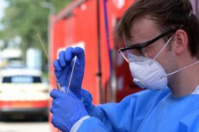 Testování na koronavirus
