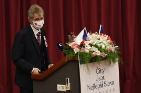 Předseda Senátu Miloš Vystrčil na návštěvě Tchaj-wanu