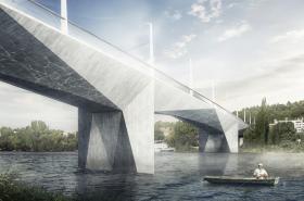 Návrh nového Dvoreckého mostu