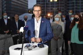 Radim Holiš (ANO) po jednání budoucích koaličních stran