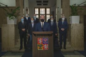 Mimořádný projev ministra zdravotnictví Romana Prymuly