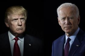 O Bílý dům se utká dvojice sedmdesátníků, Donald Trump a Joe Biden