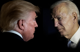 Souboj dvou sedmdesátníků. O křeslo v Bílém domě se utkají Donald Trump a Joe Biden