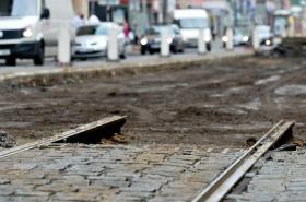Rekonstrukce tramvajové trati