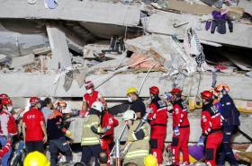 Zemětřesení v částech Řecka a Turecka