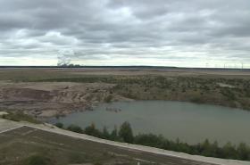 Bývalý povrchový důl u Chotěbuzi
