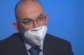 Ministr zdravotnictví Jan Blatný v Interview ČT24