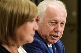 Předseda Asociace samostatných odborů Bohumír Dufek