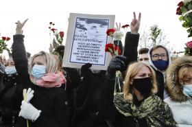 Lidé uctili památku zemřelého aktivisty
