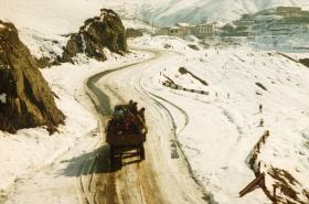 Karabašská metropole Stěpanakert v době první války (prosinec 1993)