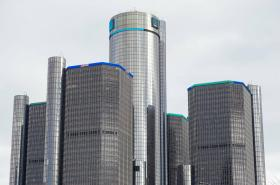 Sídlo automobilky General Motors v Detroitu