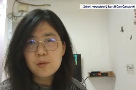 Aktivistka a nezávislá novinářka Čang Čan