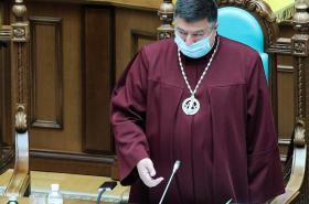 Předseda ukrajinského ústavního soudu Oleksandr Tupyckyj