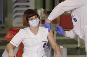 Očkování zdravotníků v Polsku