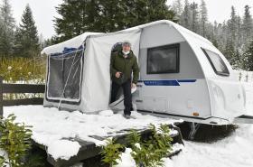Na přelomu roku vzrostla poptávka po karavanech