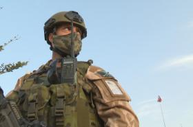 Voják na misi v Mali