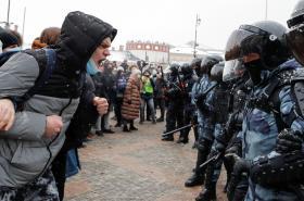 Protest v Moskvě