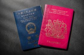 Pasy Hongkongu a Británie