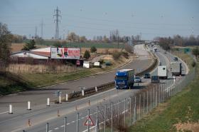 Nedokončená dálnice D3 u Tábora
