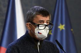 Andrej Babiš po jednání s hejtmany o nouzovém stavu
