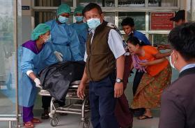 Protesty v Myanmaru mají první potvrzenou obeť