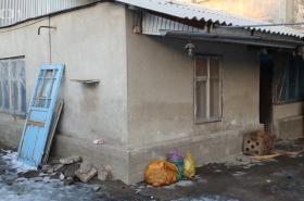 Domek, ve kterém v Biškeku vyrůstal Alexandr Dubček
