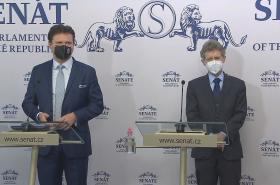 Radek Vondráček a Miloš Vystrčil