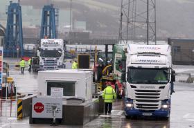 Přístav Larne v Severním Irsku