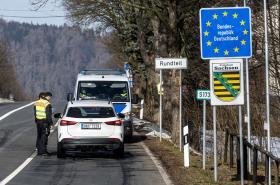 Kontroly u hraničního přechodu Petrovice-Bahratal