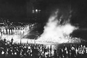 Pálení knih v Berlíně v květnu 1933