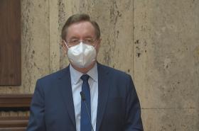 Nový ministr zdravotnictví Petr Arenberger