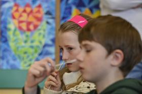 Samotestování dětí ve škole
