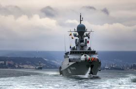 Cvičení ruské armády v Černém moři