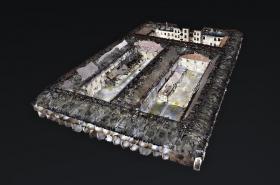 3D model věznice na Cejlu