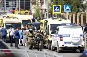 Zásah u školy v Kazani