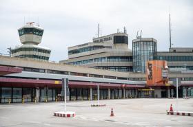 Zavřené letiště Tegel