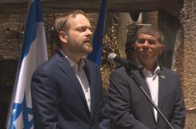 Ministr zahraničí Jakub Kulhánek navštívil Izrael