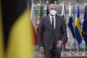 Předseda Evropské rady Charles Michel na summitu