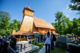 V Třinci-Gutech vysvětili repliku Kostela Božího Těla