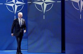 Americký prezident Joe Biden na summitu NATO v Bruselu