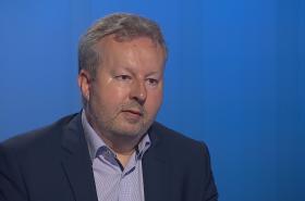 Ministr životního prostředí Richard Brabec (ANO) v Interview ČT24