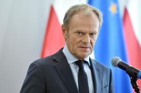 Šéf polské opoziční Občanské platformy Donald Tusk