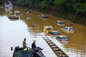 Následky povodní v západním Německu