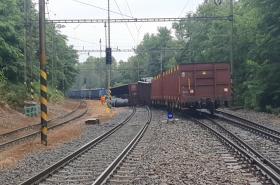 Nehoda vlaku u Kralup nad Vltavou