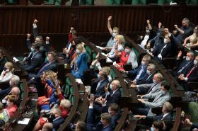 Polský Sejm jedná o mediálním zákonu