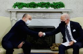 Naftali Bennett a Joe Biden