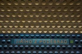Stanice metra A Jiřího z Poděbrad