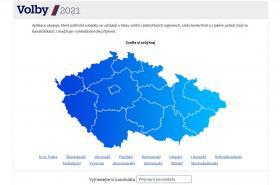 Volební lístek on-line