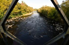 Řeka Bečva rok po havárii