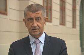 Andrej Babiš u Poslanecké sněmovny